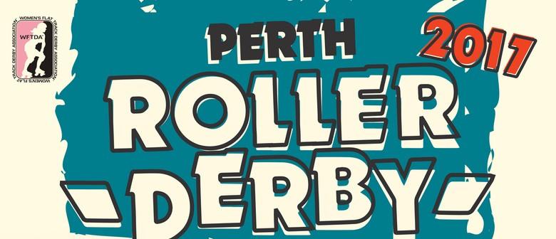 Perth Roller Derby 2017 – Bout 1 Sundaes Vs Mistresses
