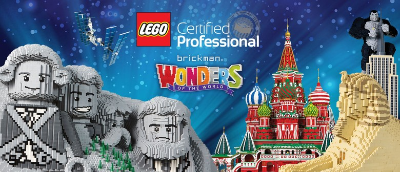 Brickman Wonders of The World Lego Exhibition