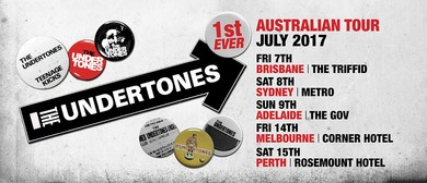 The Undertones Australian Tour