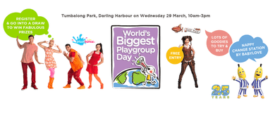 World's Biggest Playgroup Day