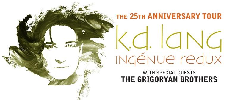 k.d. lang – Ingénue Redux 25th Anniversary Tour