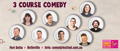 Melbourne International Comedy Festival – 3-Course Comedy