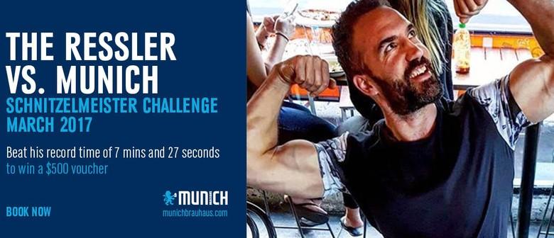 The Ultimate Schnitzel Eating Food Challenge