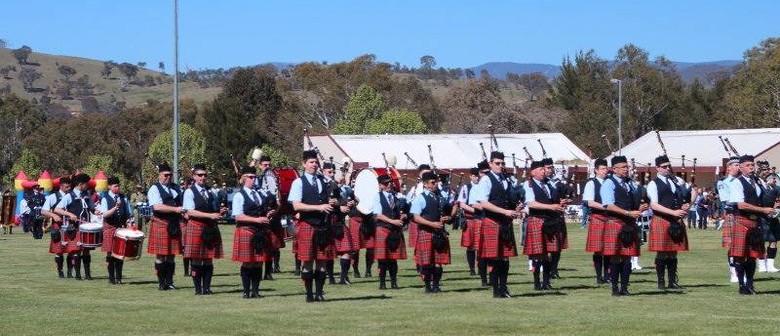 The Canberra Burns Club Highland Gathering
