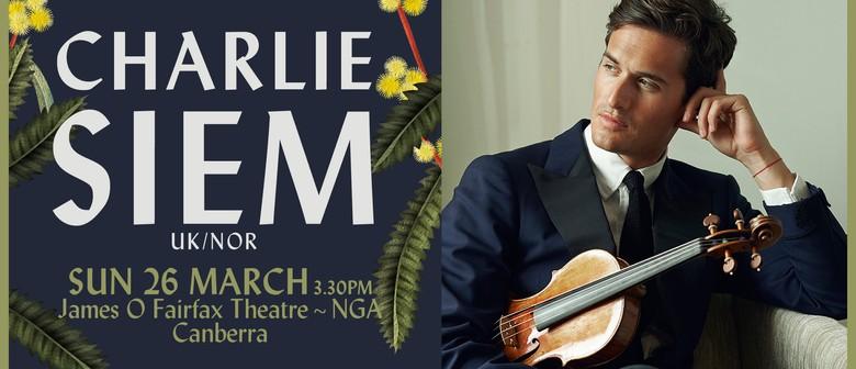 Charlie Siem – Inaugural Australian Tour