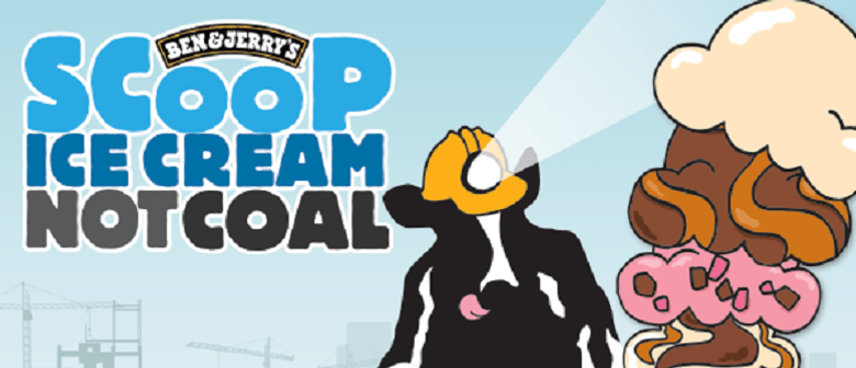 Scoop Ice Cream Not Coal