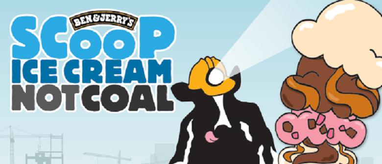 Scoop Ice Cream Not Coal