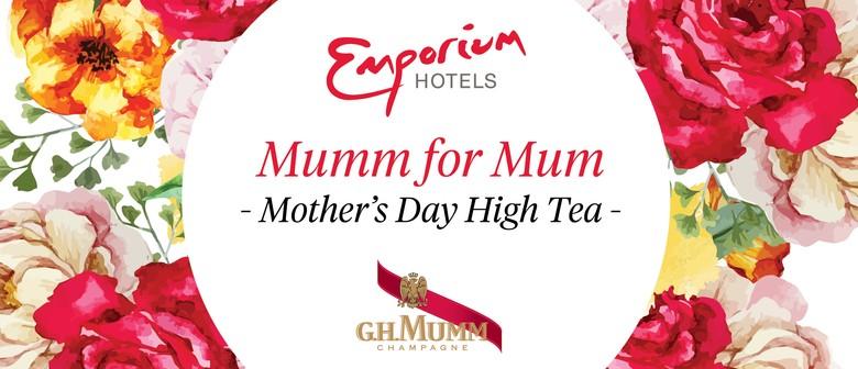 Mumm for Mum Mother's Day High Tea
