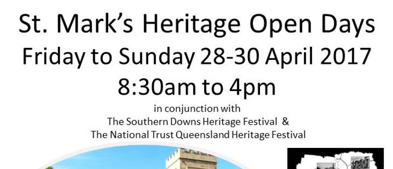 St. Mark's Heritage Open Days