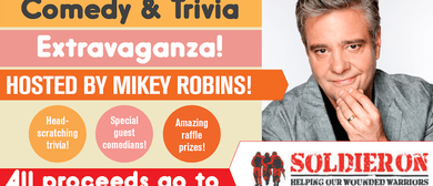 Comedy and Trivia Extravaganza With Mikey Robins