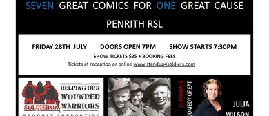 Stand Up for Our Soldiers Comedy Show