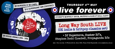 Live Forever – Sydney's Britpop, Indie and Rock N' Roll Part
