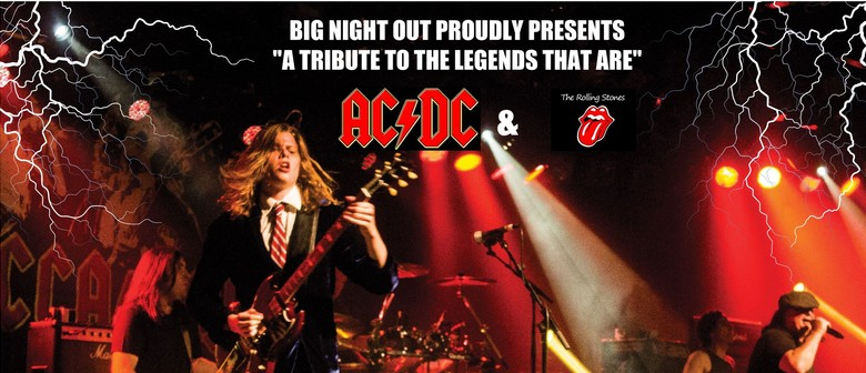 "THE BIG NIGHT OUT      ""A Tribute to the Legends that are"""