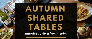 Autumn Shared Tables