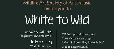 White to Wild Art Exhibition