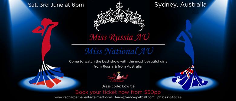 Miss Russia AU & Miss National AU