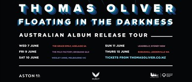 Thomas Oliver – Floating In the Darkness Album Tour