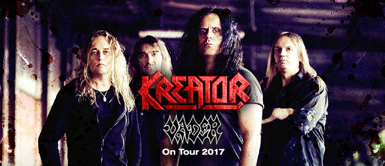 Kreator and Vader Australian Tour