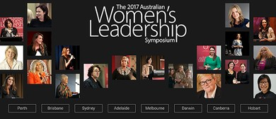 Women's Leadership Symposium 2017