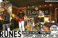 Angels, ACDC Tribute Sunday Session With Runes Band
