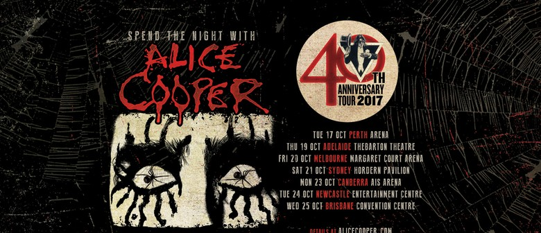 Alice Cooper With Very Special Guest Ace Frehley