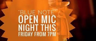 Blue Note Open Mic Night