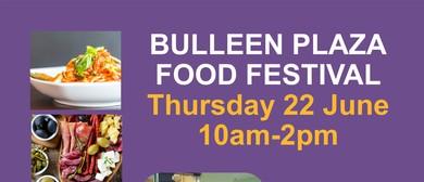 Bulleen Plaza Food Festival