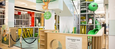 The Monkey Bar Playground Opening