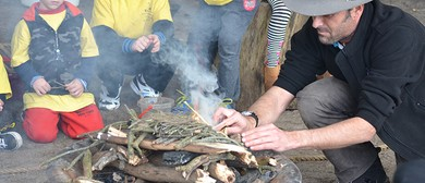 Bush School Campfire
