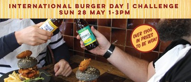 Stack In the Middle With Brew Burger Challenge