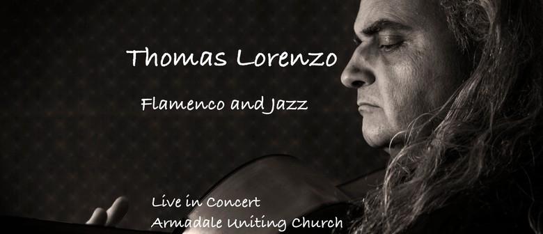 Thomas Lorenzo Composer Guitarist in Concert: Flamenco Jazz