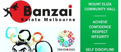 Banzai Karate – Melbourne Sport Club Class