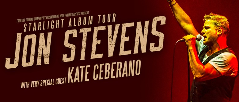 Jon Stevens – Starlight Album Tour
