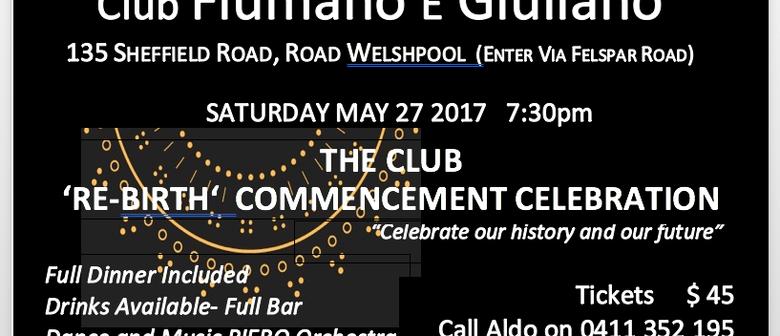 Club Fiumano E Giulanlo Dinner Dance