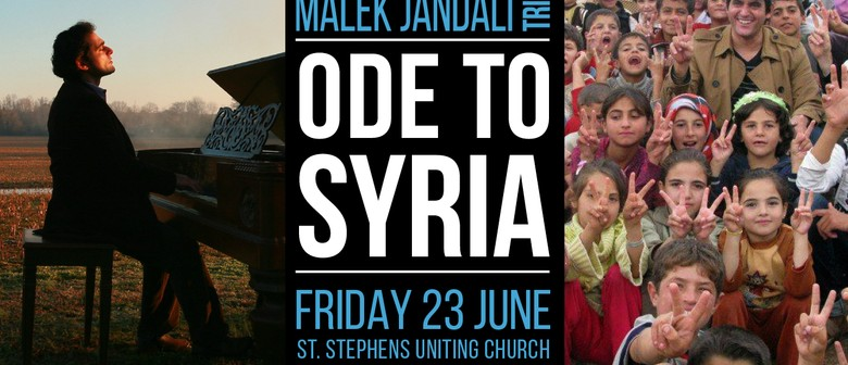 Ode to Syria – An Evening of Syrian Music, Arts and Stories