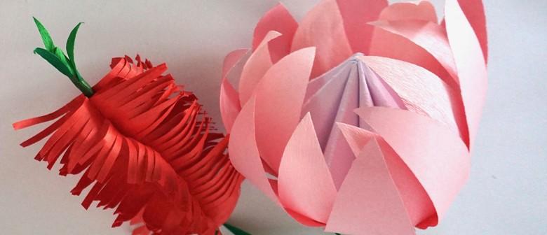 How to make australian native paper flowers melbourne eventfinda how to make australian native paper flowers mightylinksfo