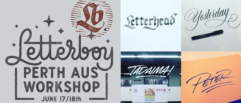 Letterboy calligraphy and hand lettering workshop
