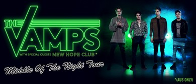 The Vamps – Middle Of The Night Tour