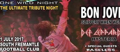 Bon Jovi and Def Leppard Tribute Night