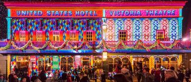 Winter Wonderlights Christmas In July Event
