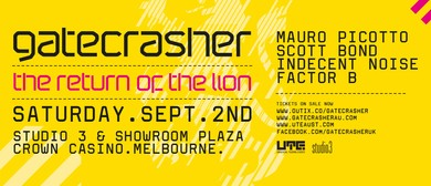 Gatecrasher – Return of The Lion Tour