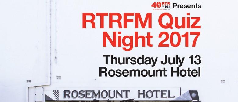 RTRFM Quiz Night 2017