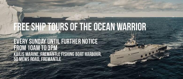 Ship Tours – MV Ocean Warrior – Sea Shepherd