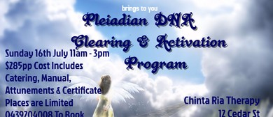 Pleiadian DNA Clearing & Activation Program