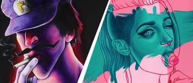 Pop Dead Gorgeous: Dual Solo Exhibition By Sam Pea & Miss E