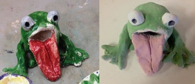 Clay Frogs With Christina Frank