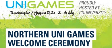 Northern University Games Welcome Ceremony
