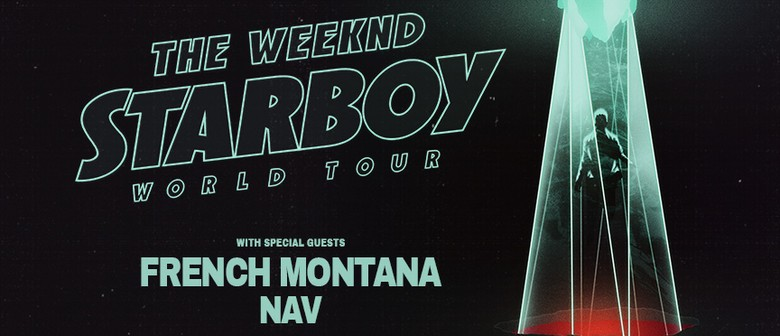 Weeknd tour dates in Brisbane