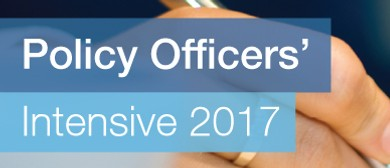Policy Officers' Intensive 2017