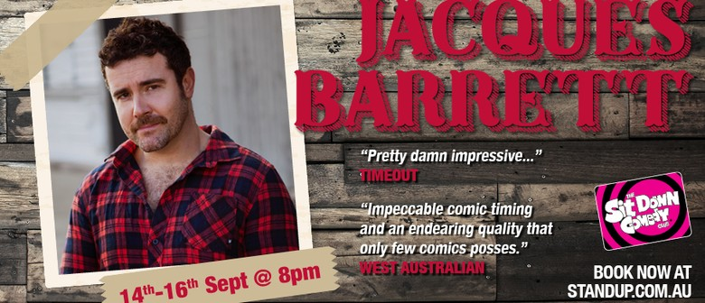 Stand Up Comedy With Jacques Barrett